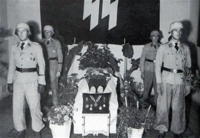 herbert ernst vahl 9 october 1896 13 july 1944 killed nazi jerman seragam tropis ss