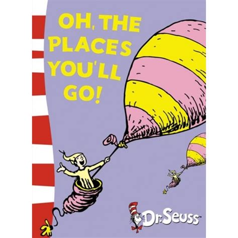 libro oh the places youll oh the places you ll go dr seuss yellow back book english wooks