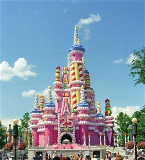 remember when cinderella's castle was pink? picture of
