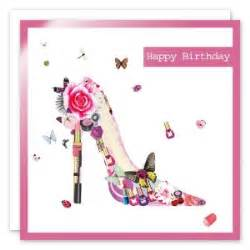 happy birthday wishes with high heels