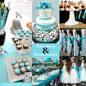 wedding color turquoise wedding color seven combinations
