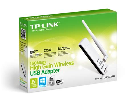Tp Link High Gain Wireless Usb Adapter 150mbps Tl Wn722n White tl wn722n 150mbps high gain wireless usb adapter tp link