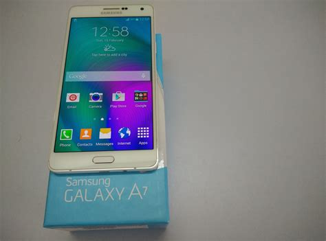 Samsung Galaxy A7 Unboxing Samsung Galaxy A7 Unboxing And On Overview