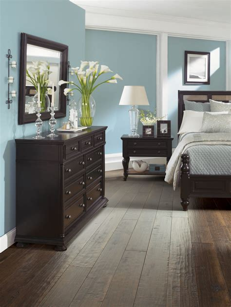 dark brown wood bedroom furniture 30 wood flooring ideas and trends for your stunning