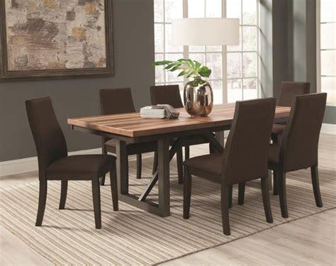 Meja Makan Warna Hijau meja makan minimalis warna coklat toko meja kayu