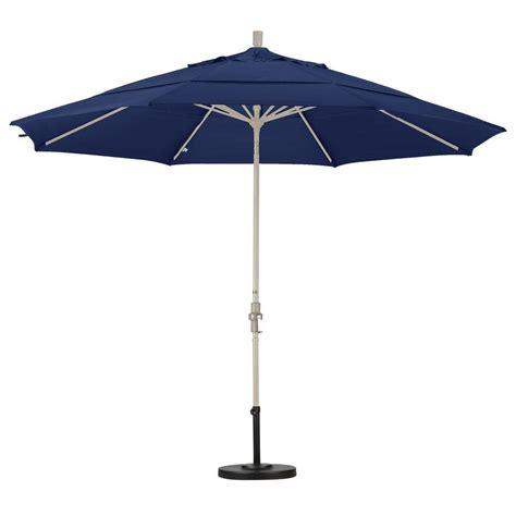 Patio Umbrella Tilt Hinge California Umbrella 11 Ft Fiberglass Collar Tilt