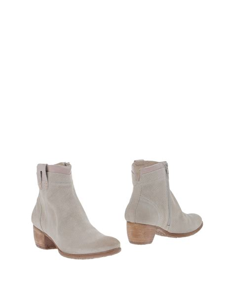 gray boots khrio ankle boots in gray lyst