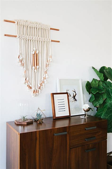 Copper Pipe Wall Hanging DIY ? A Beautiful Mess