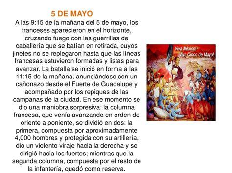 Resumen 5 De Mayo by Batalla 5 De Mayo En Puebla