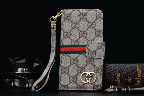 gucci leather wallet phone case  samsung galaxy