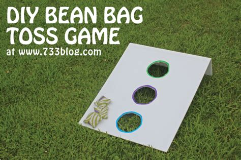 diy bean bag toss diy bean bag toss make a robot creative and in the