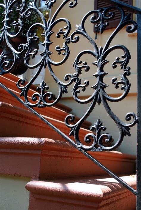 Stair Railings And Banisters Paula Deen S Savannah Style Part I Wrought Iron