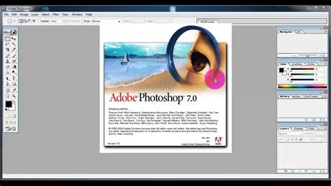 tutorial adobe photoshop 7 0 free download click download button