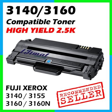 Toner Xerox Phaser 3155 compatible laser toner cartridge fuji xerox phaser 3160