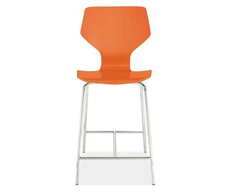 room and board pike chair pike stool with chrome legs in colors stools dining room board remodel furniture