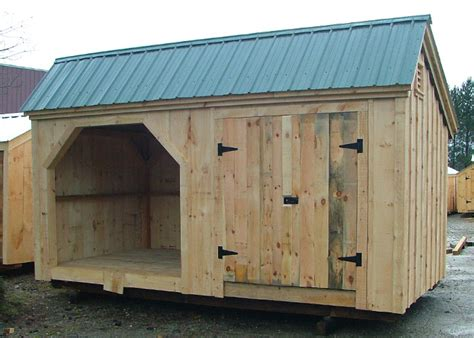 Large Storage Shed Kits by Large Shed Plans Shed With Wood Storage Wooden Storage