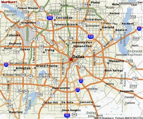 dallas texas city map map of dfw cities pictures to pin on pinsdaddy