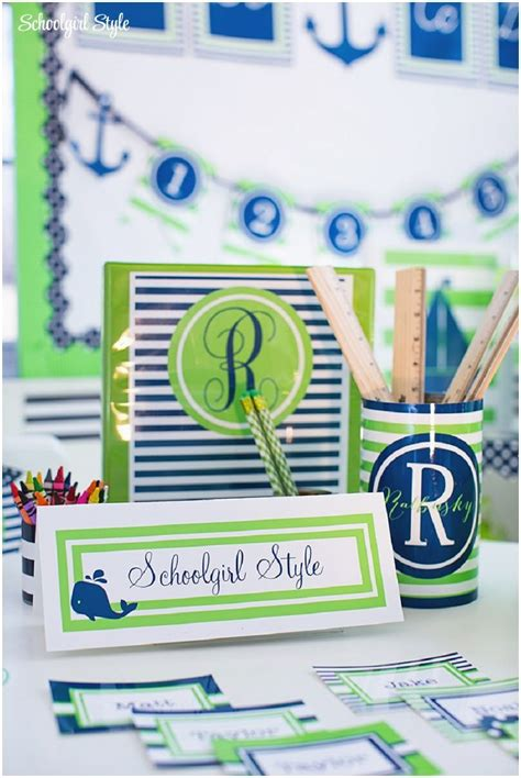 nautical classroom decorations 18 best images about preppy nautical lime green on