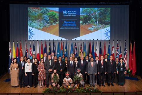 Who The World world health organization members meet in brisbane