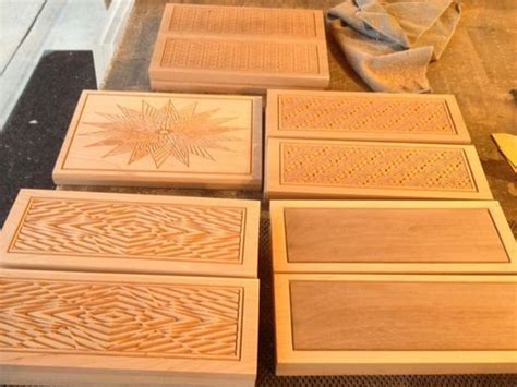 handmade carved wooden boxes  raw creations cnc