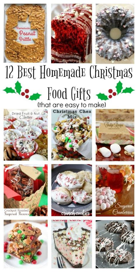 best homemade christmas food gifts domestically creative