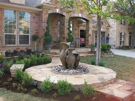 front yard water features photos of garden water fountains home dignity