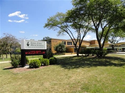 Ford High School by Edsel Ford High School Class Of 1961