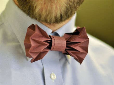 How To Make Paper Bow Ties - diy origami bow ties paper bow tie
