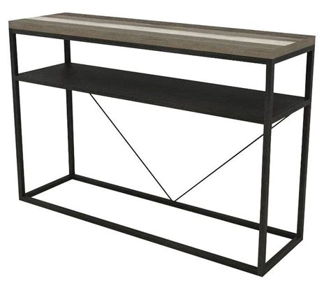 metro console table living room occasional and