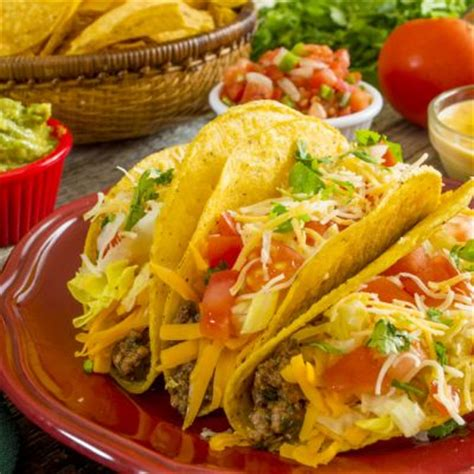 Easy Appetizers by Appetizers Traditional Mexican Ground Beef Tacos Recipe