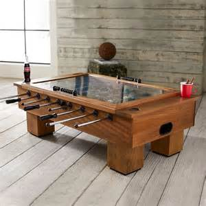 cool ideas of foosball coffee table for your design room