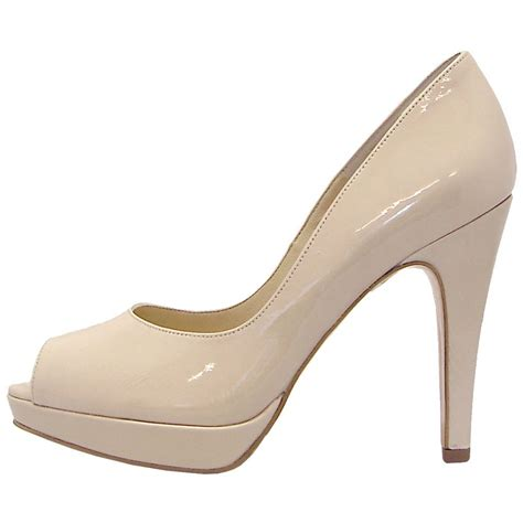 Peep Toe Shoes by Kaiser Patu High Heel Peep Toe Shoes In
