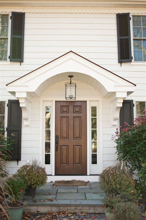 Portico Designs For Front Door 25 Best Ideas About Portico Entry On Side Door Front Door Overhang And Front Door