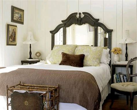 antique mirror headboard 20 cool headboard alternatives furnish burnish