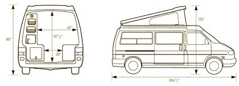 Rialta Rv Floor Plans by The Millers House Eve The Vw Eurovan Camper