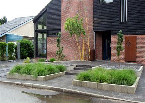 Vorgarten Modern by Barrierefreier Vorgarten Modern Und Pflegeleicht