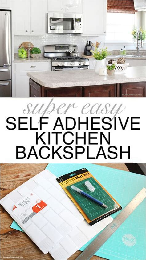 self adhesive kitchen backsplash tiles best 25 adhesive backsplash ideas on adhesive
