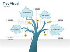 Tree Diagram Template by Graphic Tree Diagrams Editable Ppt Slides