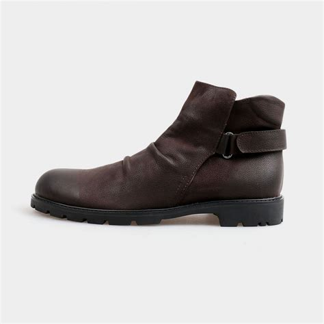 comfortable brown boots herilios slip in ankle brown boots with adjustable straps