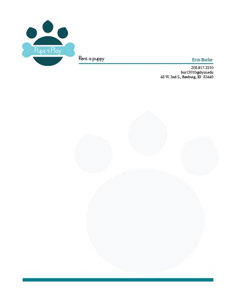 rent a puppy rexburg project 6 stationery erin burke