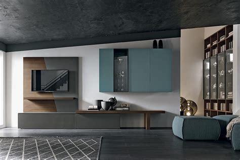 arredamento parete soggiorno parete attrezzata a065 composizione arredo soggiorno in