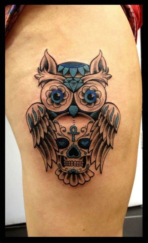 sugar owl tattoo design owl tattoos for men inspiration and gallery for guys
