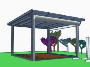 pavillon windfest machen gartenpavillon mit glasdach und seitlichen rolll 228 den