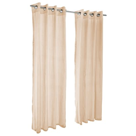 outdoor sunbrella drapes sheer honey grommet sunbrella outdoor curtains