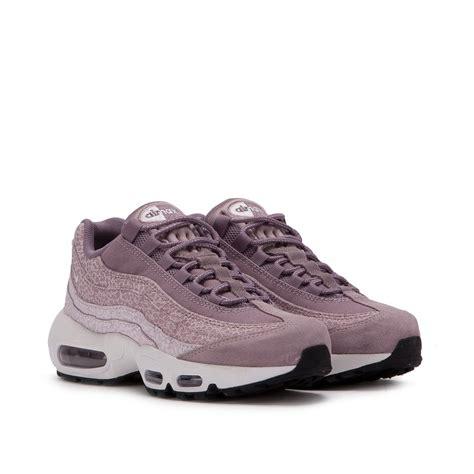 Nike Airmax Premium nike wmns air max 95 premium purple smoke white 807443 502
