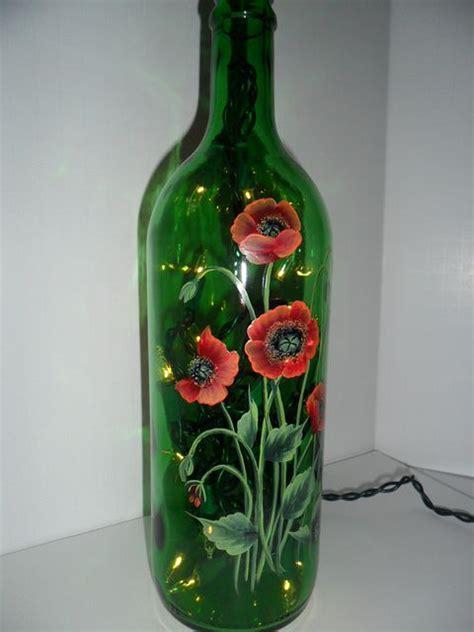 wine bottles with lights inside 66 best images about lighted wine bottle on pinterest