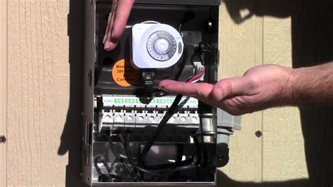 timer  photocell  youtube