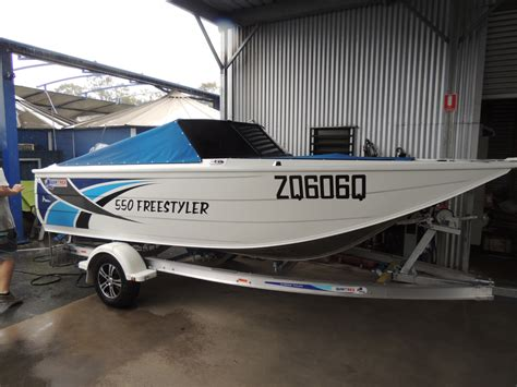brisbane yamaha used boats quintrex 550 freestyler brisbane yamaha
