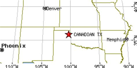 map of canadian texas canadian texas tx population data races housing economy