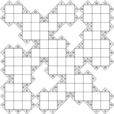 free printable sudoku kakuro kakuro 12 x 12 puzzle 6 kakuro 12 x 12 to print and download